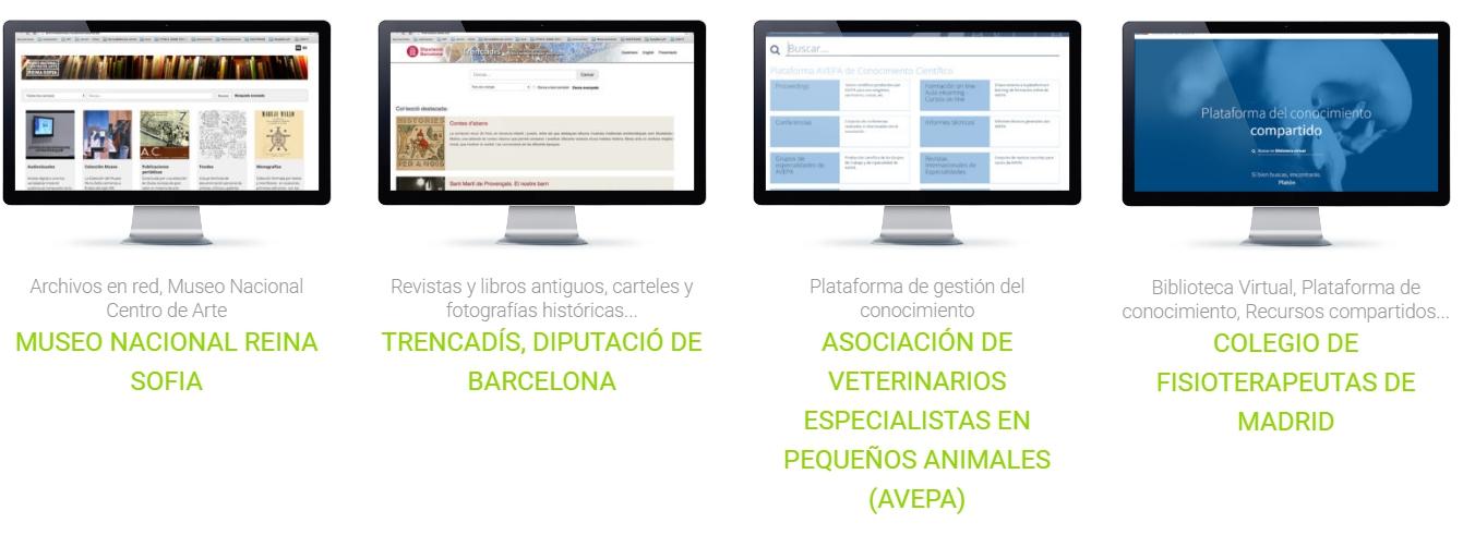 Algunos ejemplos de nuestros casos de éxitos, los encontraréis en nuestra página web www.greendata.es